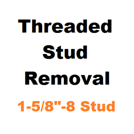 "Picture for category Stud Removal  1-5/8""-8"