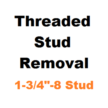 "Picture for category Stud Removal  1-3/4""-8"