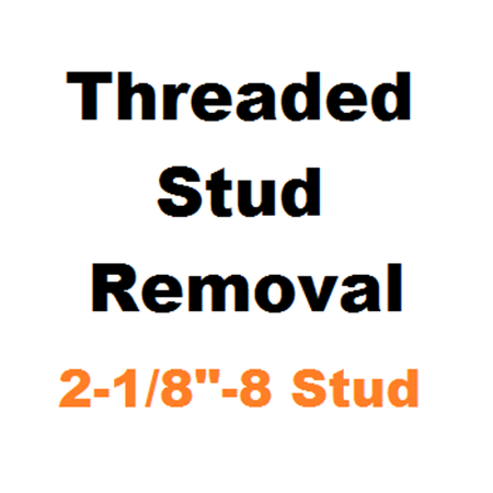 "Picture for category Stud Removal  2-1/8""-8"