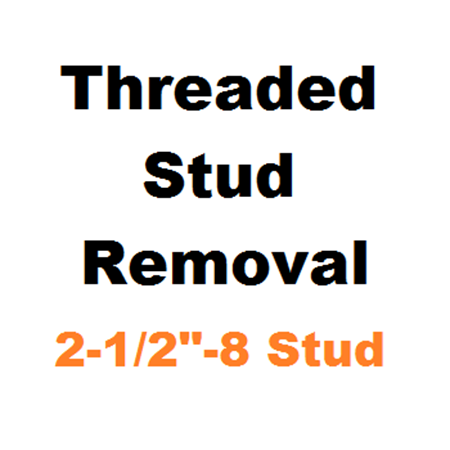 "Picture for category Stud Removal  2-1/2""-8"