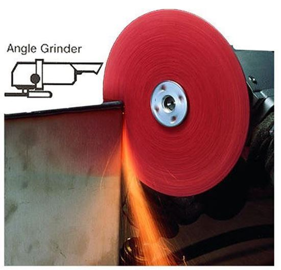 Picture of 3M™ Roloc™  Resin Fiber Disc - 5 X 7/8AH 60X  (Stainless)