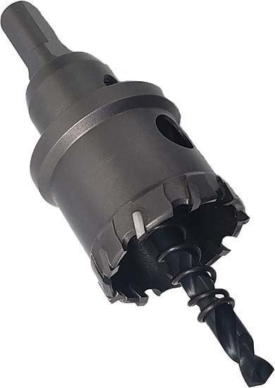 Carbide tip hole cutter