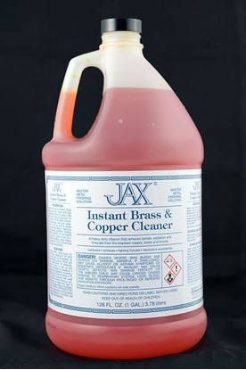 JAX Instant Brass and Copper Cleaner - Gallon