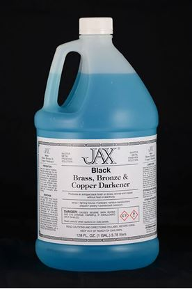 JAX Black Brass, Bronze & Copper Darkener - Gallon