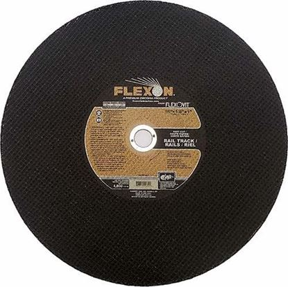 """Flexovit FLEXON Cut-off Wheel 16"""" x 1/8"""" x 1"""" Type 1"""