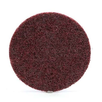 "Scotch-Brite™ Roloc™ Surface Conditioning Disc 3"" / A Medium / Maroon"