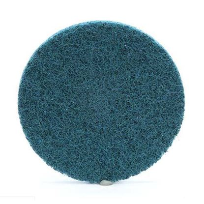 "Scotch-Brite™ Roloc™ Surface Conditioning Discs 3"" / A Very Fine / Blue"