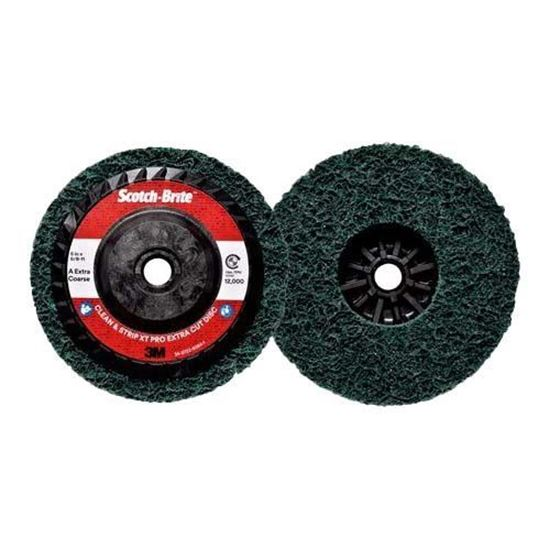 Scotch-Brite™ Clean and Strip XT Pro Extra Cut Disc XC-RD, T27 Quick Change, 5 in x 5/8 in-11, A XCS