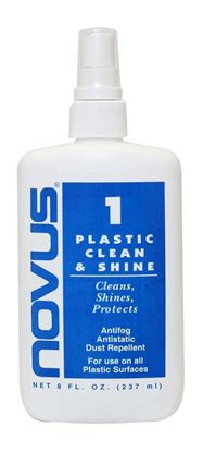 Novus 1 Plastic Clean & Shine 8oz.