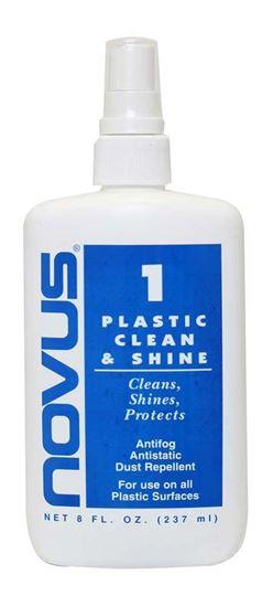Novus 1 Plastic Clean & Shine 8oz.
