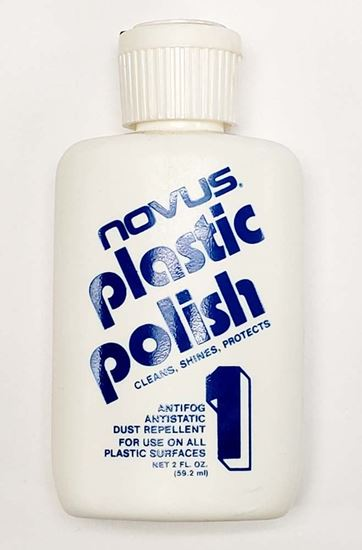 Novus 1 Plastic Clean & Shine 2oz.
