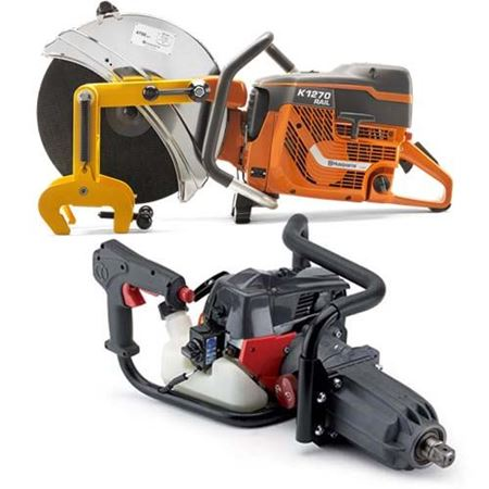 Picture for category Gas Railroad Power Tools