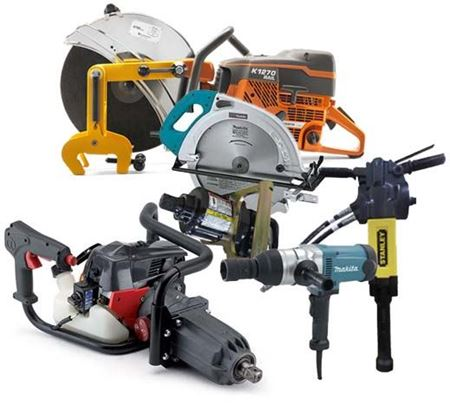 Picture for category Railroad Power Tools