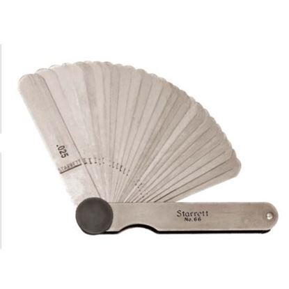 Thickness Gage / 26 Leaves / .0015-.025