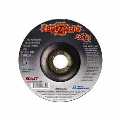 Cut-Off Wheel T27 Stainless Steel 4-1/2 X .045 X 7/8 / 23334